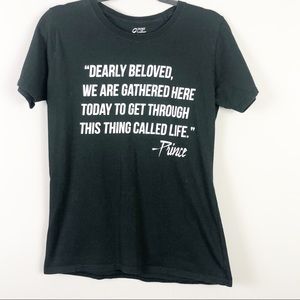 Prince Quote Tee